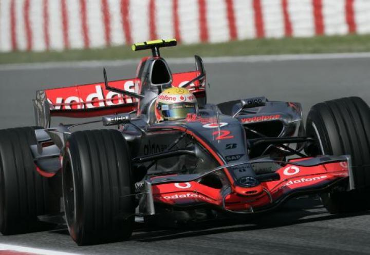 F1 - GP Hiszpanii - Lewis Hamilton