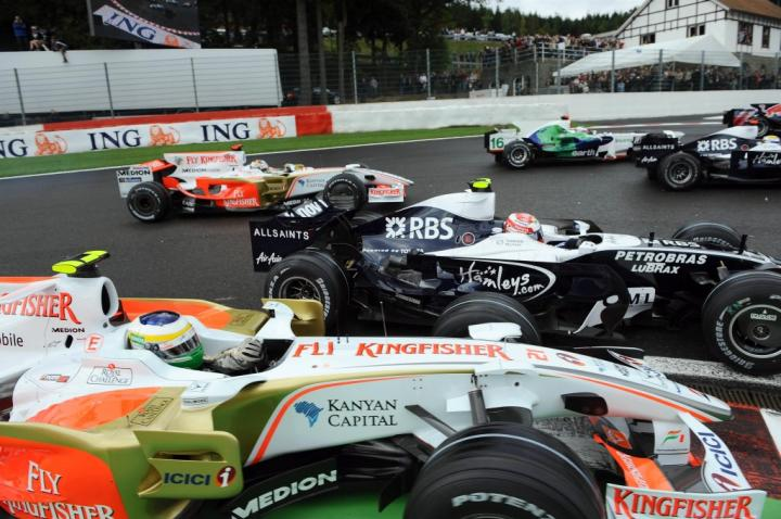GP Belgii 2008 - start