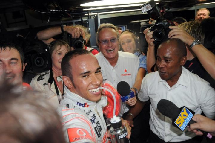 Lewis Hamilton po GP Brazylii 2008