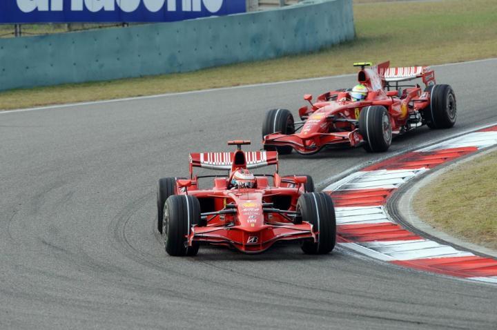 Ferrari w GP Chin 2008