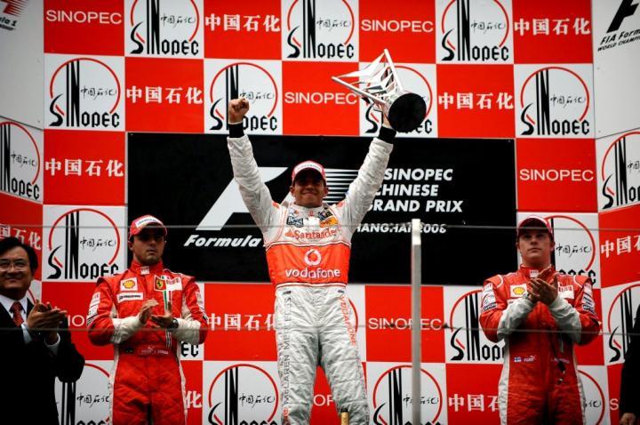 Podium GP Chin 2008