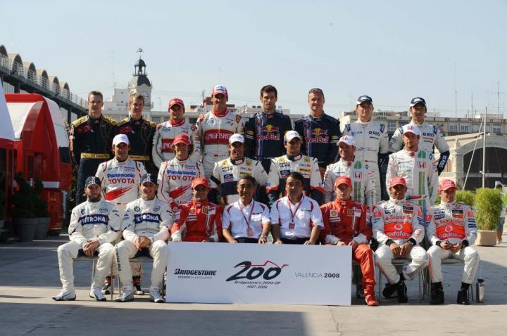 Bridgestone świętuje 200 GP w Walencji