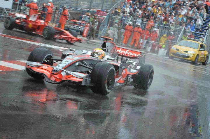 Lewis Hamilton - GP Monako 2008