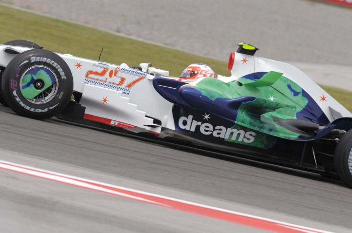 Rubens Barrichello - GP Turcji 2008