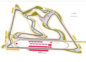 Nowy układ toru w Bahrajnie