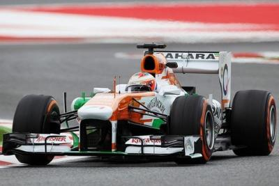 Force India z jednym bolidem w Q3