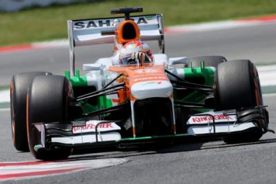 Słabszy weekend Force India