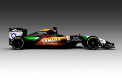 Force India pokazało nowy bolid VJM07