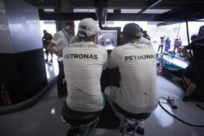 Rosberg: to Hamilton we mnie wjechał