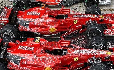 GP Brazylii 2007 - Ferrari