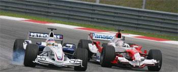 Skutecność hamulców F1